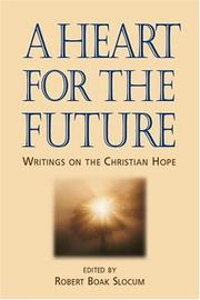 Cover of: A heart for the future |