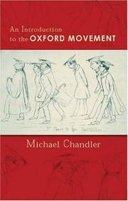 Cover of: An Introduction to the Oxford Movement
