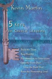 Cover of: 5 Keys for Church Leaders