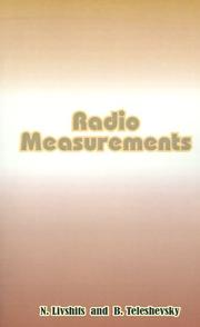 Cover of: Radio Measurements | N. Livshits
