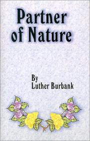 Cover of: Partner of Nature
