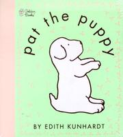 Cover of: Pat the Puppy (Touch-and-Feel) | Edith Kunhardt Davis
