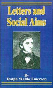 Cover of: Letters and social aims
