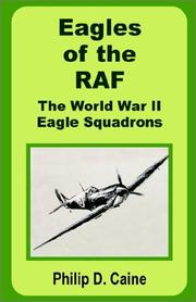 Cover of: Eagles of the RAF | Philip D. Caine
