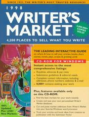 Cover of: 1998 Writer
