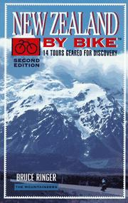 Cover of: New Zealand by bike