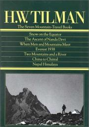 Cover of: H.W. Tilman | H. W. Tilman