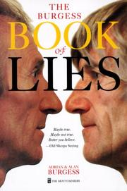 Cover of: Burgess Book of Lies