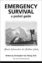 Cover of: Emergency survival