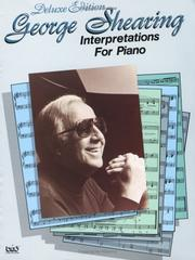 Cover of: George Shearing Interpretations for Piano | George Shearing