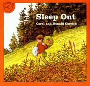 Cover of: Sleep out