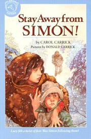 Cover of: Stay Away from Simon!