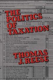 Cover of: The politics of taxation