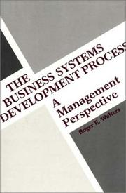 Cover of: The business systems development process