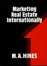 Cover of: Marketing real estate internationally