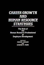 Cover of: Career Growth and Human Resource Strategies |