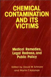 Cover of: Chemical contamination and its victims |