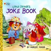 Cover of: Little Critter's Joke Book | Mercer Mayer