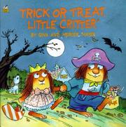 Cover of: Trick or treat, little critter