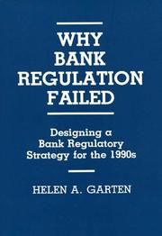 Cover of: Why bank regulation failed