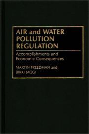 Air and water pollution regulation