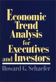 Cover of: Economic trend analysis for executives and investors