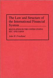 law and structure of the international financial system