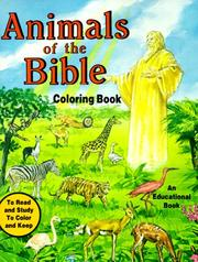 Cover of: Animals of the Bible Coloring Book | Emma Mckean