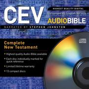 Cover of: Contemporary English Version Audiobible New Testament | Stephen Johnson