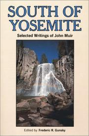 Cover of: South of Yosemite