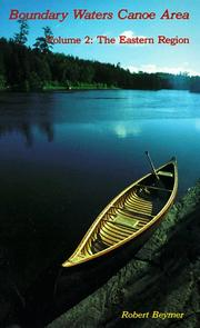 Cover of: Boundary Waters Canoe Area | Robert Beymer