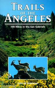 Trails of the Angeles by Robinson, John W.