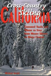 Cover of: Cross-Country Skiing California | Michael Jeneid