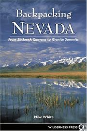 Cover of: Backpacking Nevada