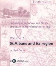 Cover of: Population, Economy and Family Structure in Hertfordshire in 1851: Volume 2