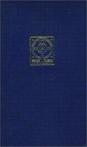 Cover of: Medicina mentis