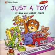 Cover of: Just a toy
