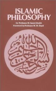 Cover of: Islamic Philosophy
