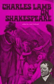 Cover of: Charles Lamb on Shakespeare