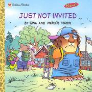 Cover of: Just not invited