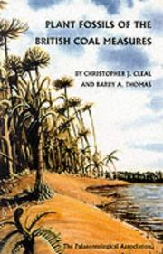 Cover of: Plant fossils of the British coal measures