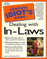 Cover of: The complete idiot's guide to dealing with in-laws