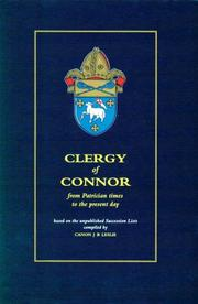 Cover of: Clergy of Connor