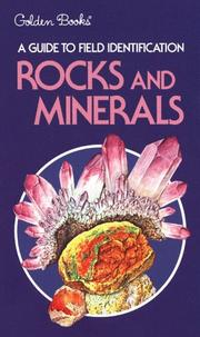 Cover of: Rocks and Minerals (Field Guide and Introduction to the Geology and Chemistry of) | Charles A. Sorrell