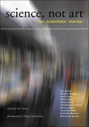 Cover of: Science, not art |