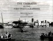 Cover of: The Emirates by the first photographers
