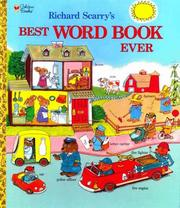 Cover of: Best Word Book Ever! | Richard Scarry