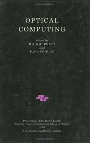 Cover of: Optical Computing (Sussp 34) |