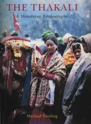 Cover of: The Thakali