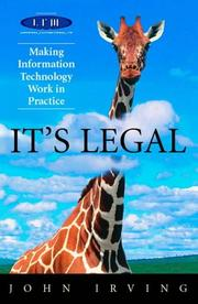 Cover of: It's Legal